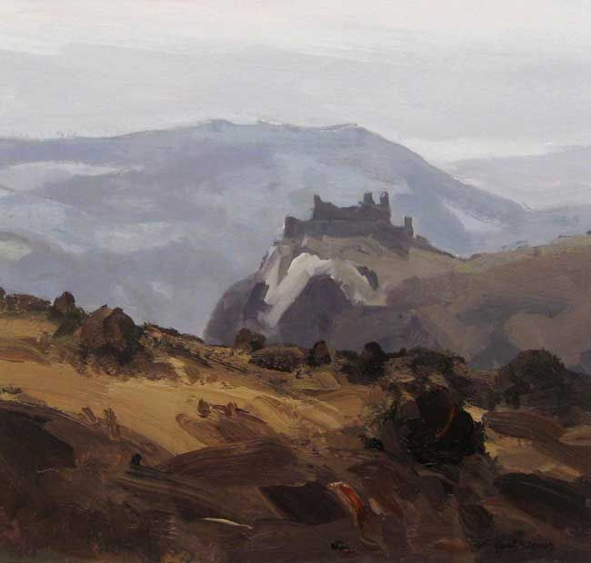 Gareth Thomas, Carreg Cennen, Grey Day