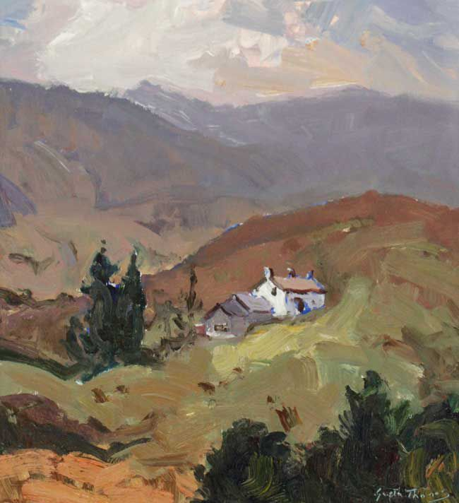 Gareth Thomas, Cottage Near Capel Curig