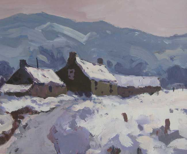 Gareth Thomas, Early Snow Trawsfynydd