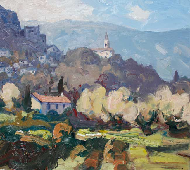 Gareth Thomas, Early Spring, Bonnieux