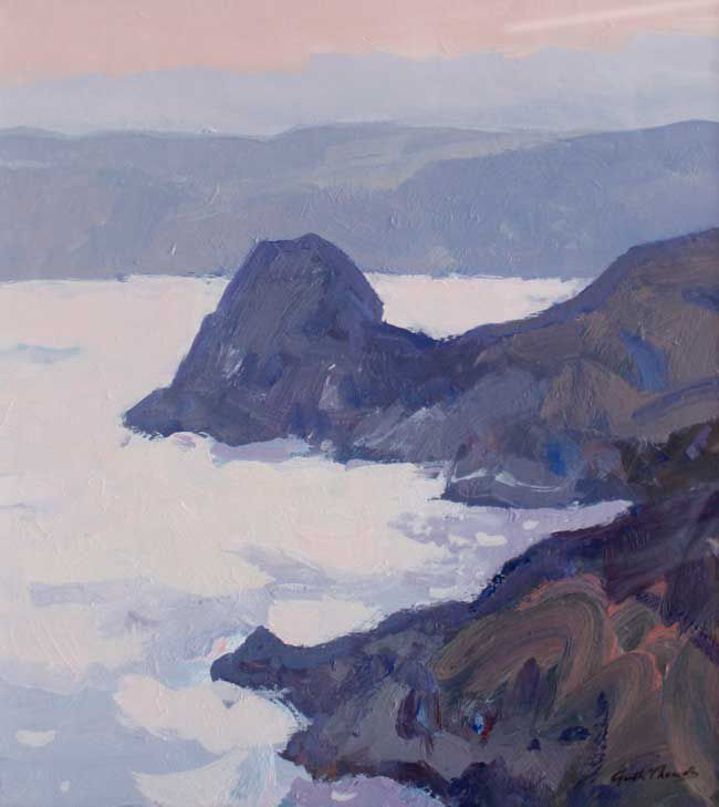 Gareth Thomas, Evening Over Three Cliffs