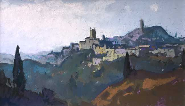 Gareth Thomas, Evening, San Miniato