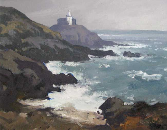 Gareth Thomas, Full Tide, Mumbles Lighthouse