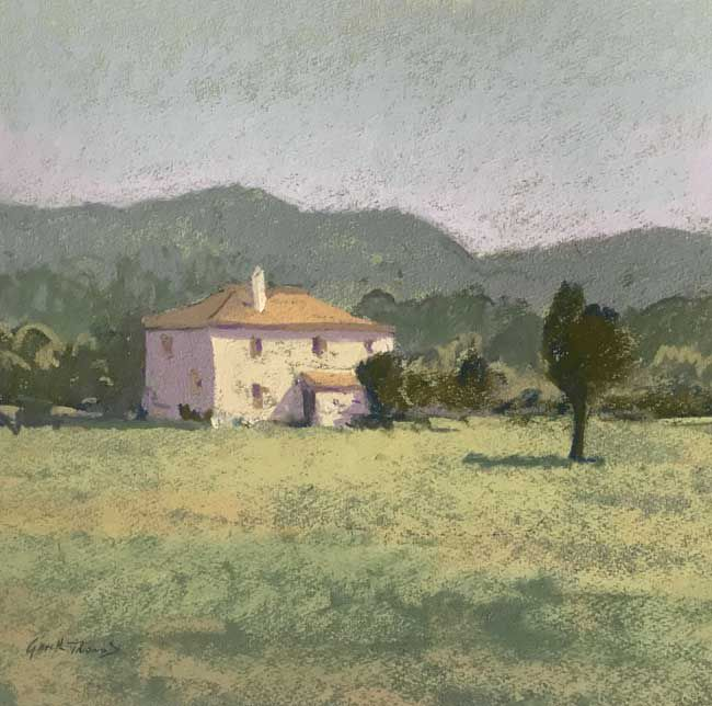 Gareth Thomas, House Near Pisa