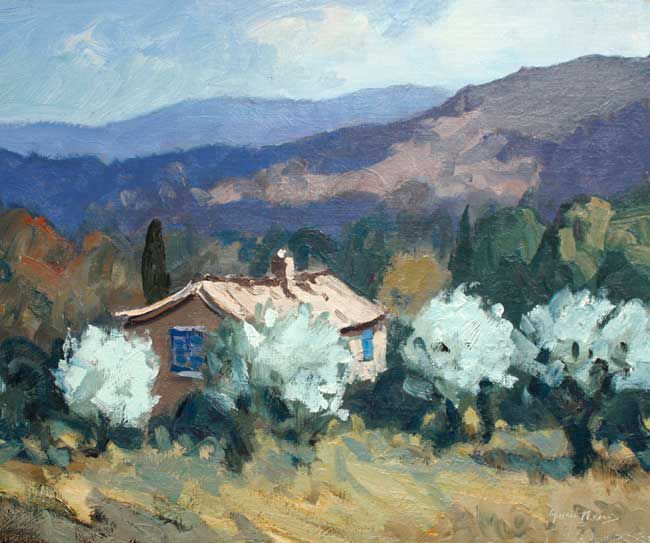Gareth Thomas, House & Olives, Near Apt