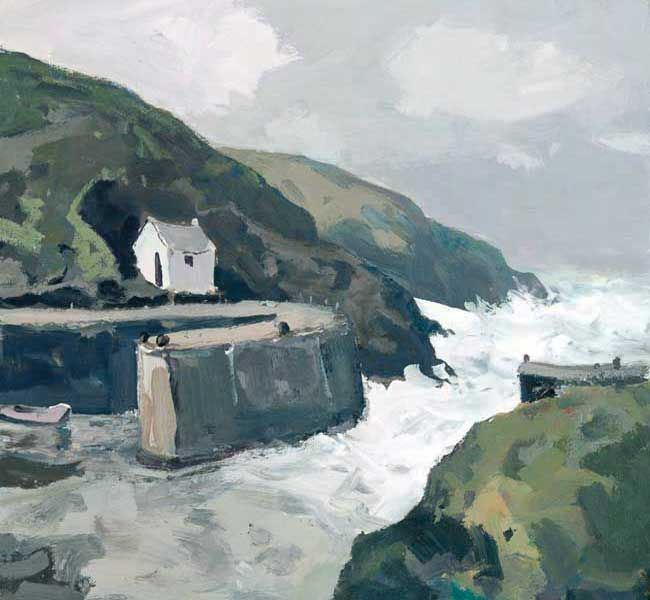 Gareth Thomas, Incoming Tide, Porthgain