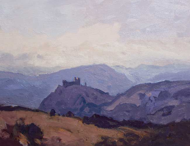 Gareth Thomas, Late Afternoon, Carreg Cennen