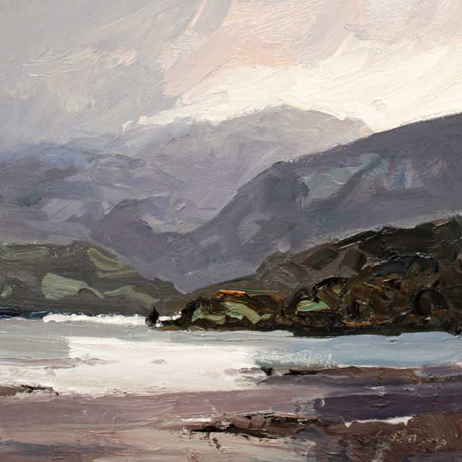 Gareth Thomas, Late Afternoon Light, Near Conwy