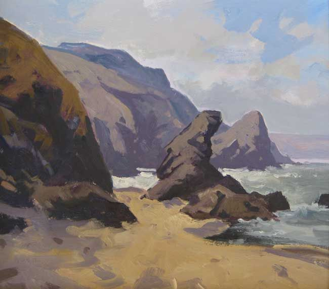 Gareth Thomas, Morning Llangrannog