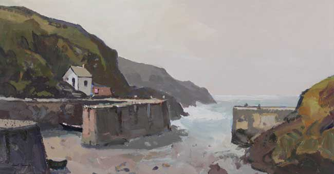 Gareth Thomas, Porthgain, Low Tide