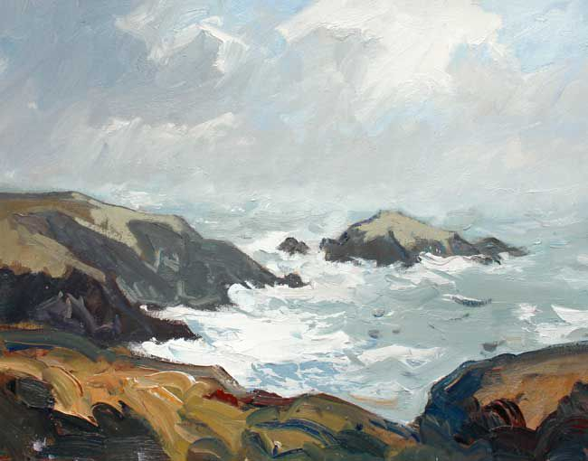 Gareth Thomas, Rough Sea, Caerfai