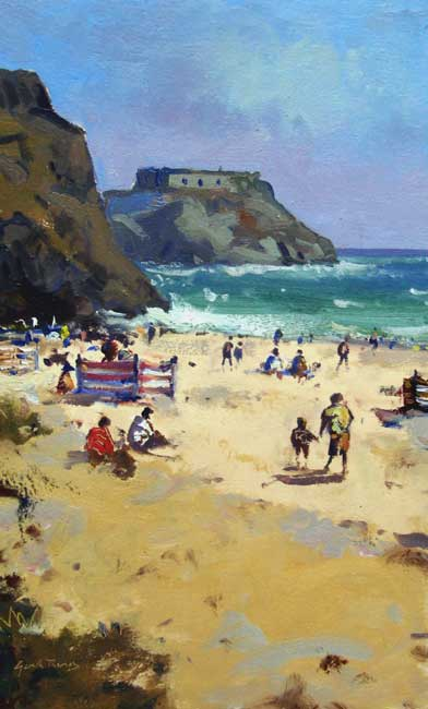Gareth Thomas, Tenby Summer