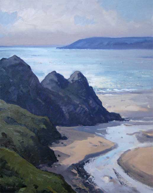 Gareth Thomas, Three Cliffs Bay