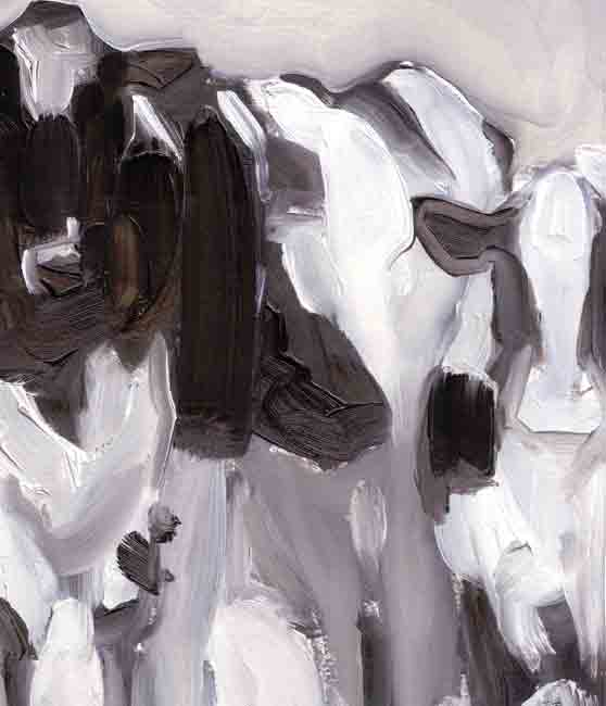 Esther Tyson, Cows At Two Dales
