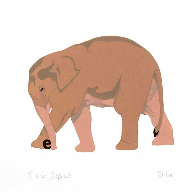 Esther Tyson, E Is For Elephant