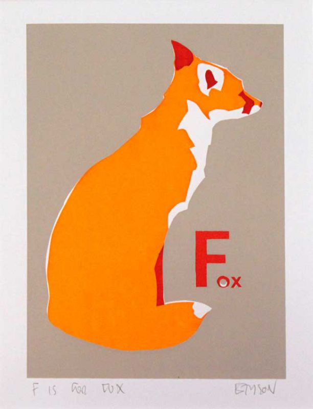 Esther Tyson, F Is For Fox 1