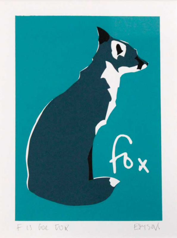 Esther Tyson, F Is For Fox 2