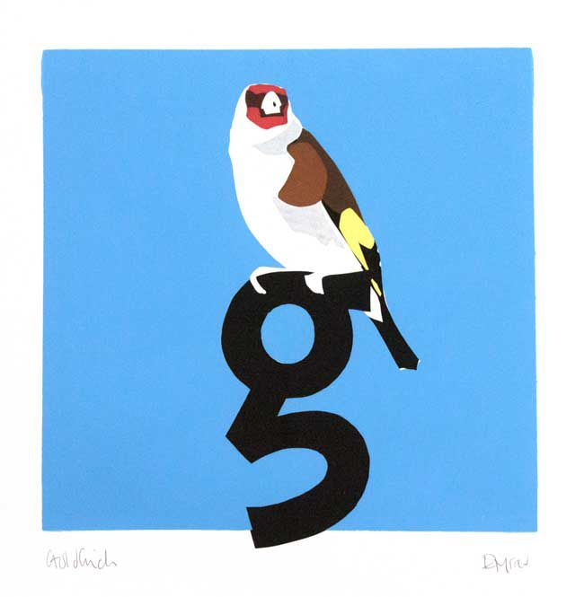 Esther Tyson, G Is For Goldfinch