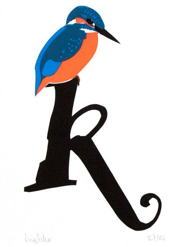 Esther Tyson, K Is For Kingfisher