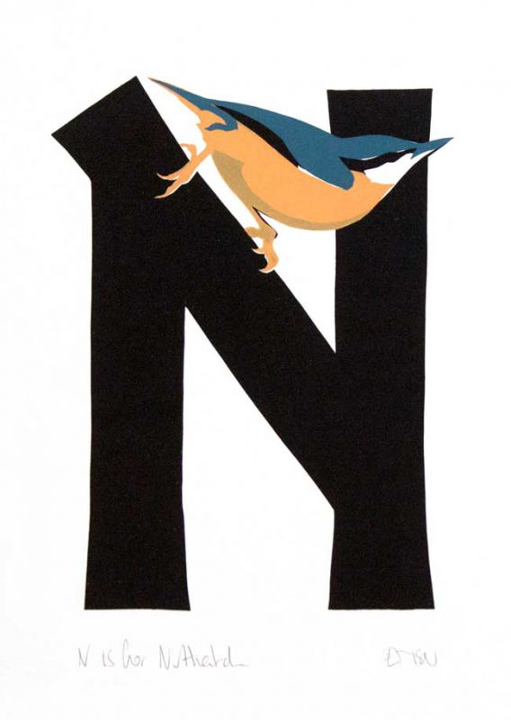 Esther Tyson, N Is For Nuthatch