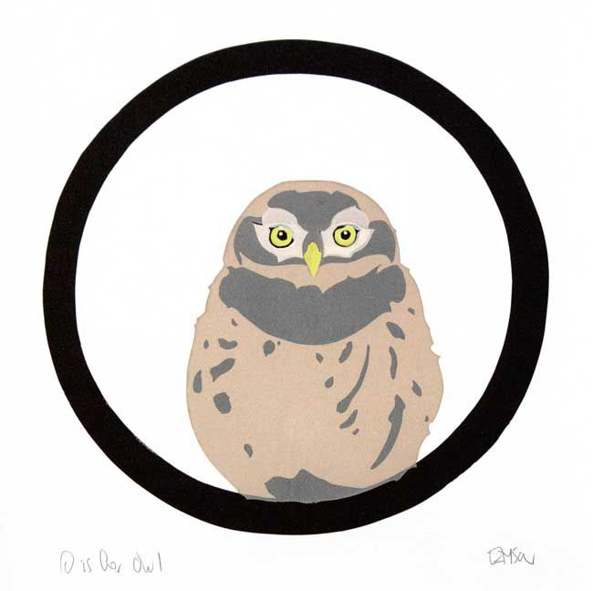 Esther Tyson, O Is For Owl