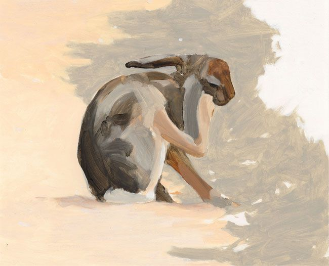 Esther Tyson, Scratching Hare