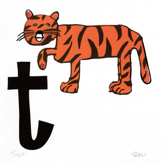 Esther Tyson, T Is For Tiger