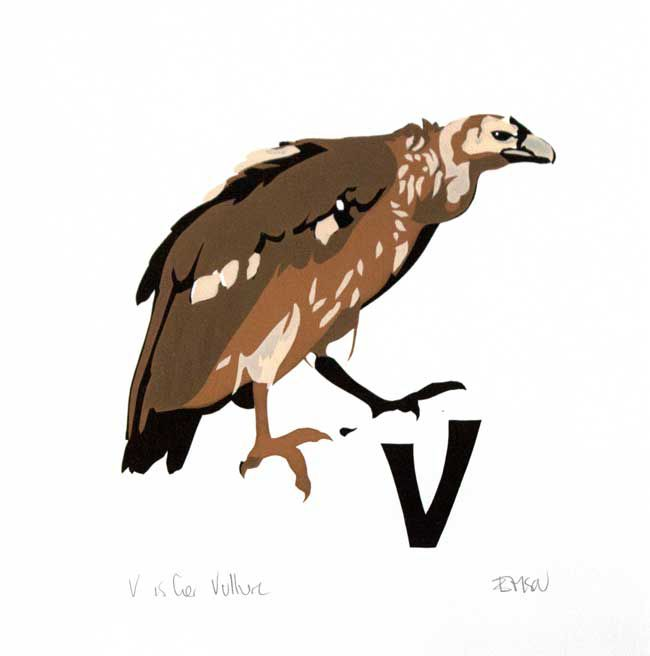 Esther Tyson, V Is For Vulture
