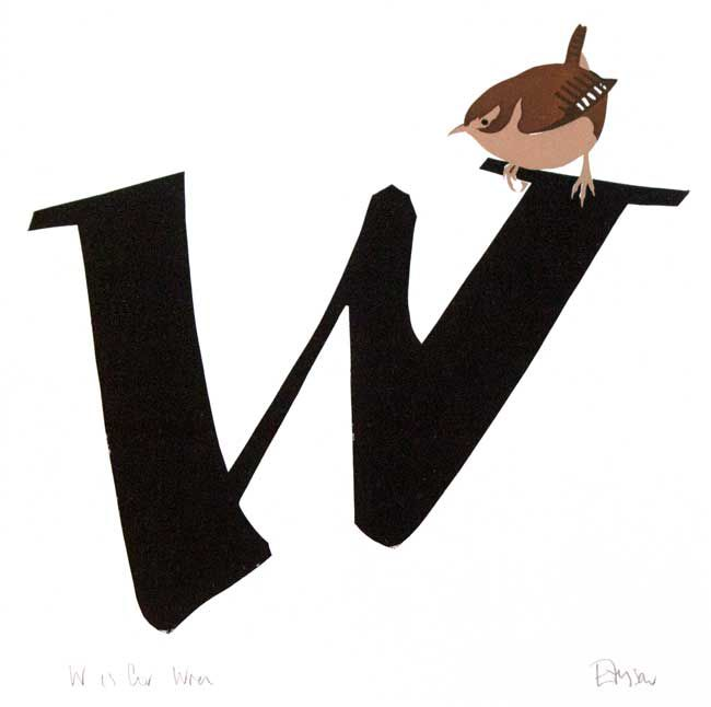 Esther Tyson, W Is for Wren