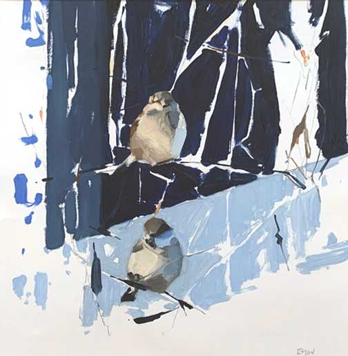 Esther Tyson, Winter Sparrows
