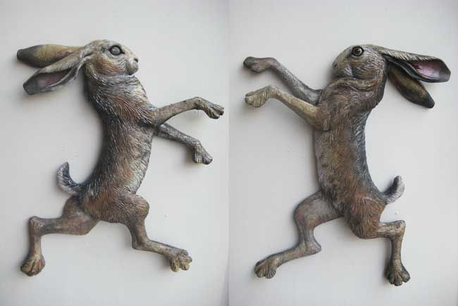 Sallie Wakley, Boxing Hares 4