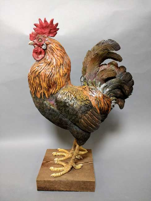 Sallie Wakley, Cockerel