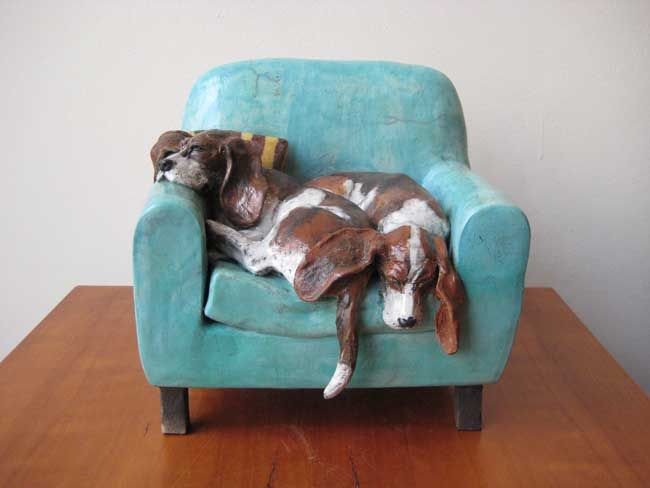 Sallie Wakley, Let Sleeping Bassets Lie
