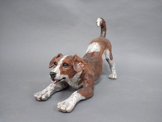 Sallie Wakley, Little Bowing Dog