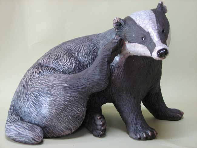 Sallie Wakley, Scratching Badger