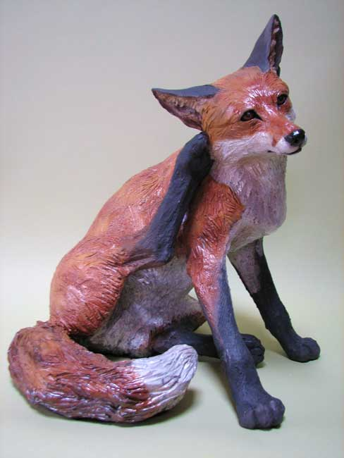 Sallie Wakley, Scratching Fox