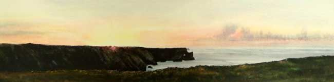 Deborah Walker RI, Day Breaks, Stack Rocks