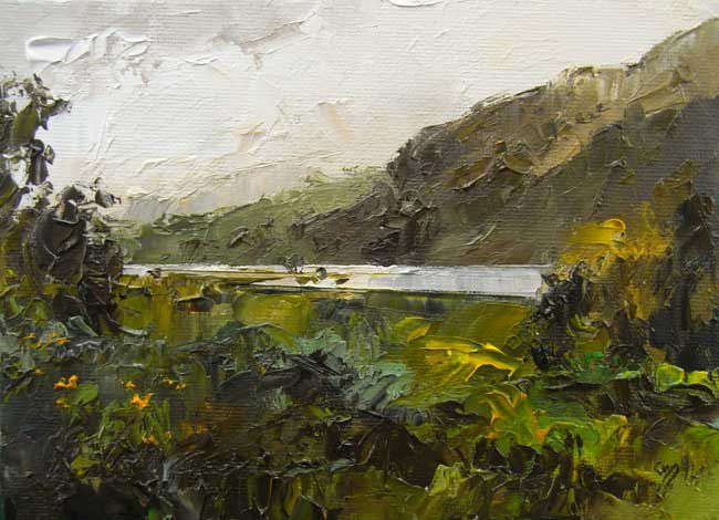David Grosvenor, Llyn Dinas, Snowdonia