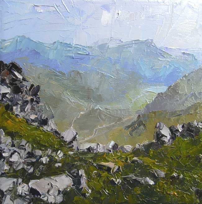David Grosvenor, Nant Gwynant From Glyder Fach
