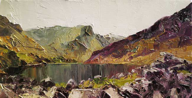 David Grosvenor, Y Garn From Llyn Ogwen