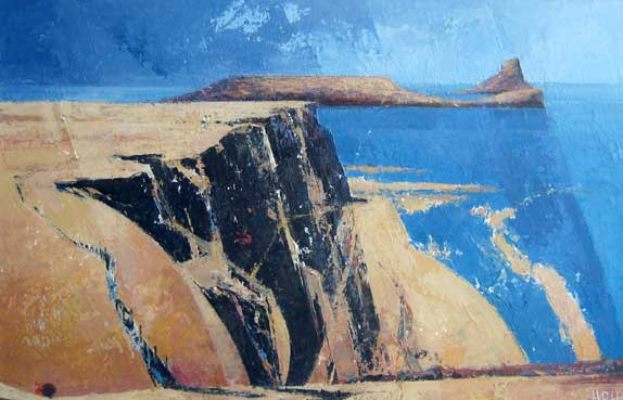 Robert Harrison, Rhossili Cliffs
