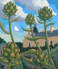 Richard Hill, Artichokes - Aberglasney