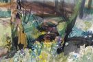 Duncan Johnson, Spring Flowers, Tregib Woods
