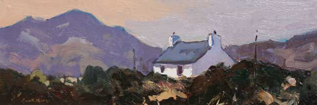 Gareth Thomas (1955-2019), Cottage Near St. David's