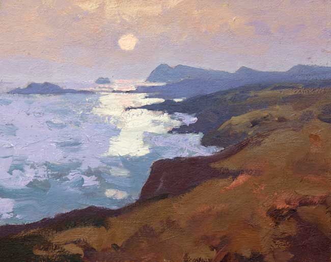 Gareth Thomas (1955-2019), Evening, St David's