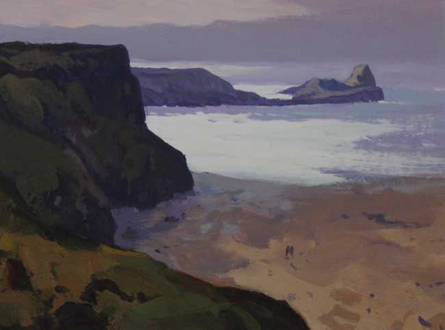 Gareth Thomas (1955-2019), Light Worms Head