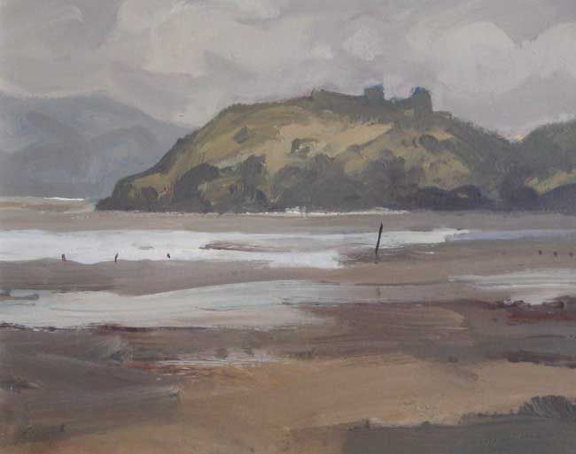 Gareth Thomas (1955-2019), Llansteffan From Ferryside
