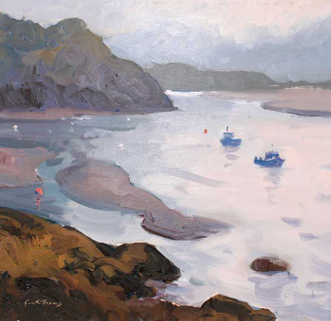 Gareth Thomas (1955-2019), Morning, Borth y Gest