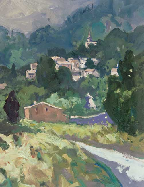 Gareth Thomas (1955-2019), Summer Light, Monnieux - Sault Plateau