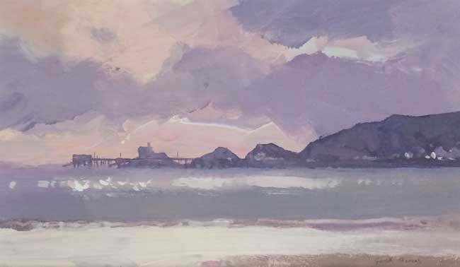 Gareth Thomas (1955-2019), Winter Light, Mumbles Head